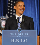 Name:  2008_Obama_His_Nigger_In_Chief_Sign-MonkeyTN.jpg