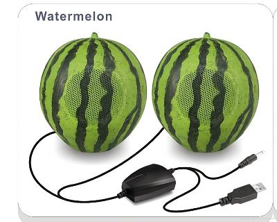 Click image for larger version.  Name:Watermelon_Stereo_Speaker.jpg Views:80 Size:280.1 KB ID:14814