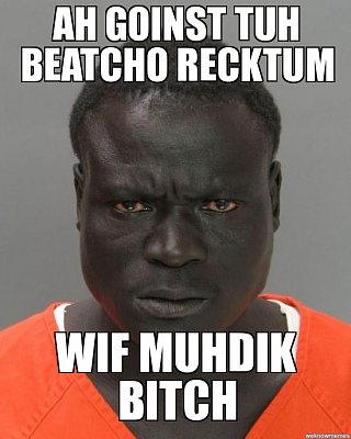 Click image for larger version.  Name:jail nigger beat cho recktum.png Views:0 Size:232.2 KB ID:215051