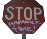 Hammer Stop Sign